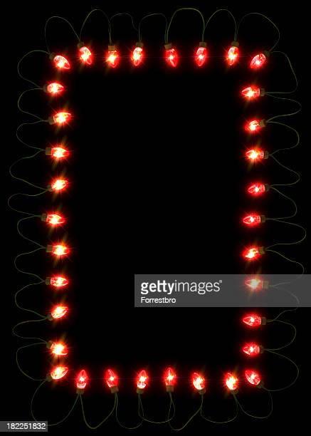 De rouge Fêtes de lumières