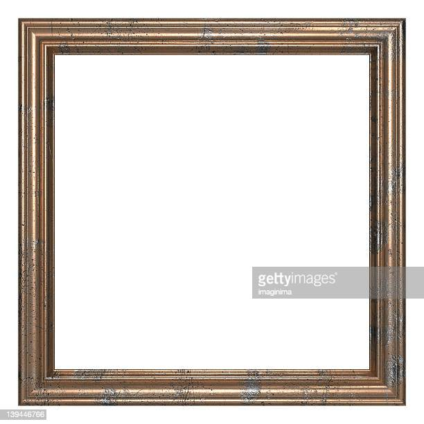 Frame Series I - Square / Old Bronze (Clipping Path)