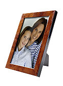 Framed Photograph of a Mother and Her Daughter