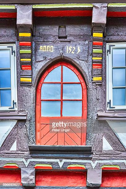 Framework ornamentations on houses in Goslar