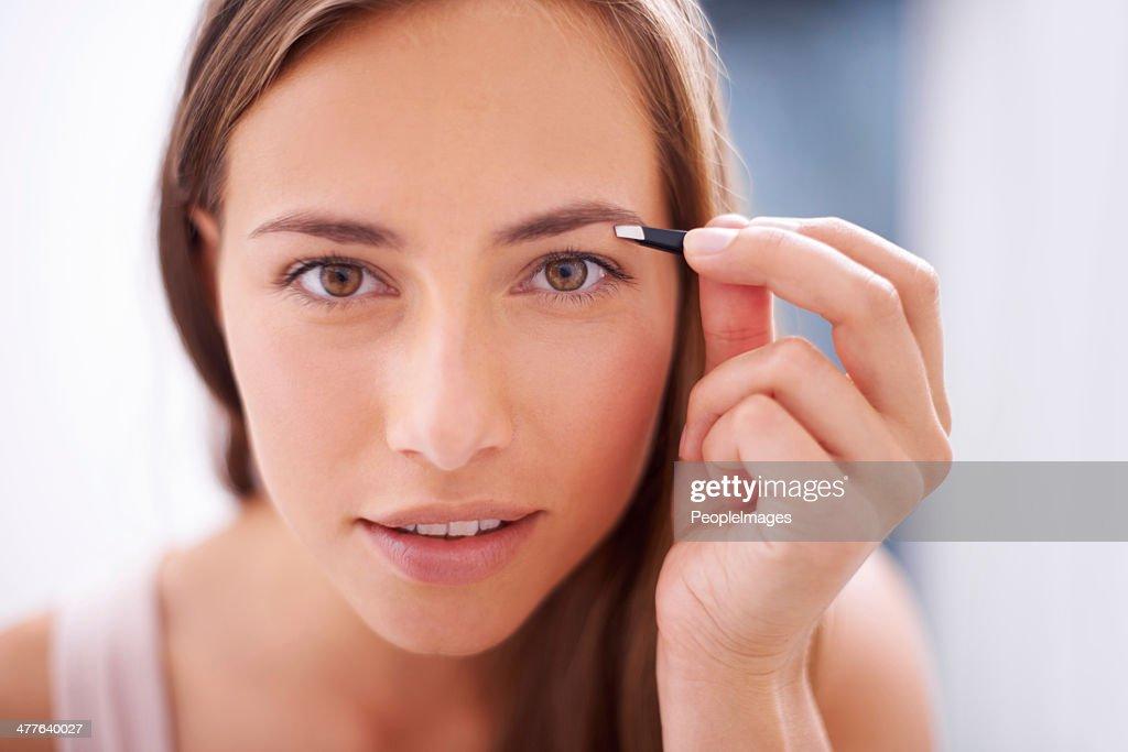 Framing her gorgeous eyes