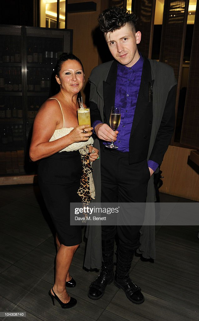 Fran Cutler and Matthew Stone attend private dinner hosted by AnOther Magazine to celebrate the latest cover star Bjork at Sake No Hana on September 20, 2010 in London, England.