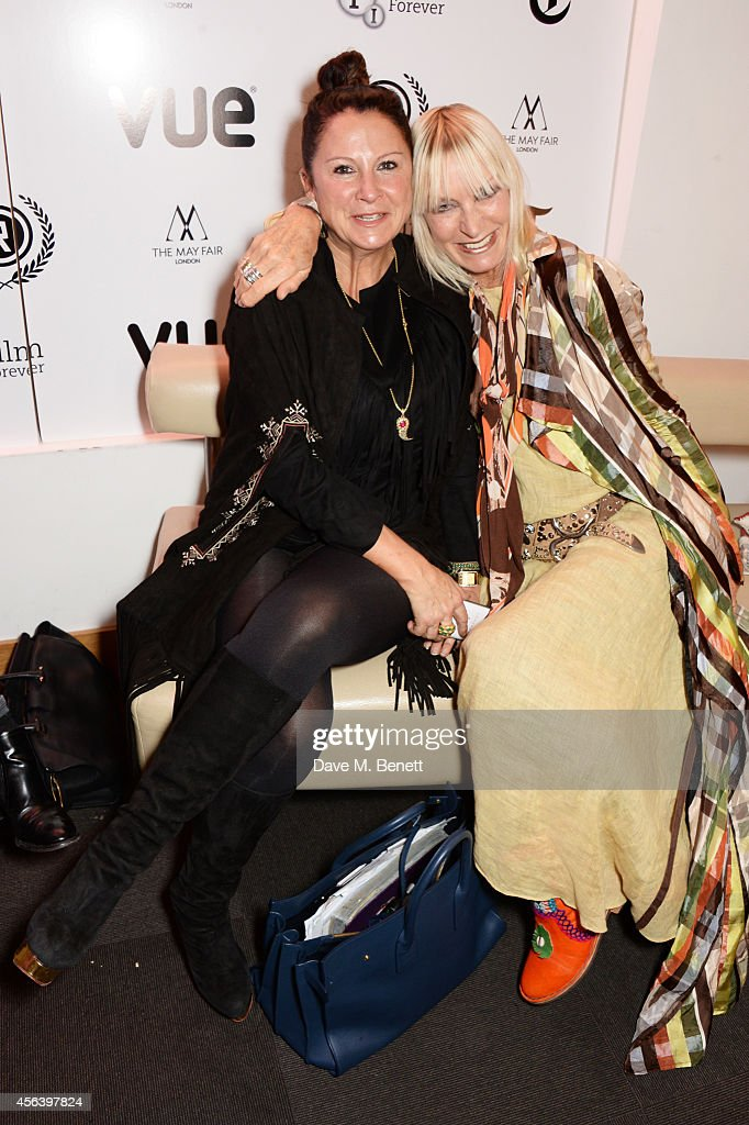 Fran Cutler (L) and Virginia Bates attend the International Premiere of 'Buttercup Bill' at the Vue Piccadilly on September 30, 2014 in London, England.