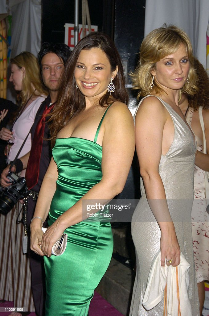 Fran Drescher and Amy Carlson during The Entertainment Weekly 'Must List' Party - Arrivals at Deep in New York City, New York, United States.