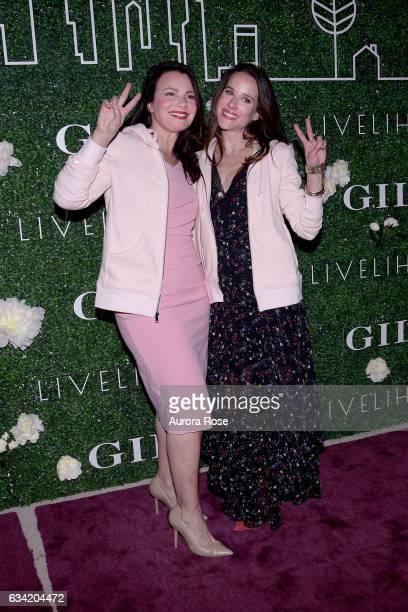 Fran Drescher and Ashley Biden attend Gilt x Livelihood Launch Event at 6 St John's Lane on February 7 2017 in New York City
