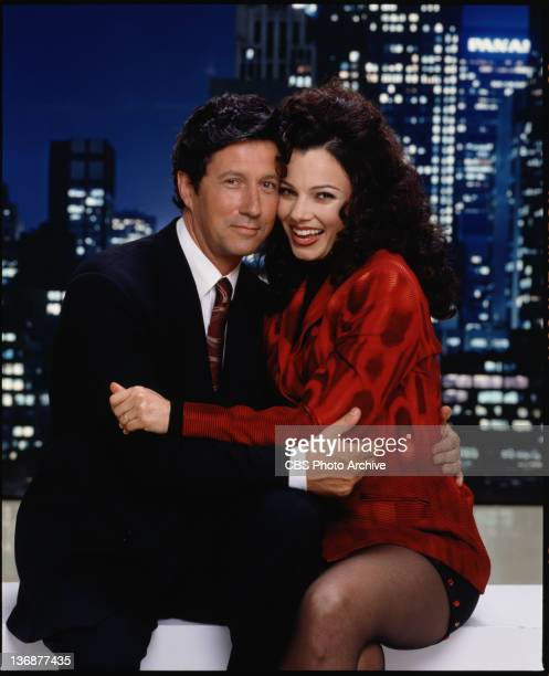 Fran Drescher and Charles Shaughnessy star as Fran Fine Sheffield and Maxwell Sheffield on THE NANNY