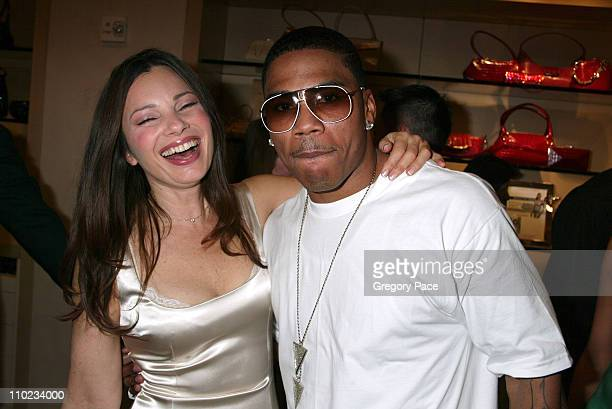 Fran Drescher and Nelly during Judith Leiber and Nelly Host Auction to Benefit Nelly's Foundation 4Sho4Kids Inside the Party at Judith Leiber...