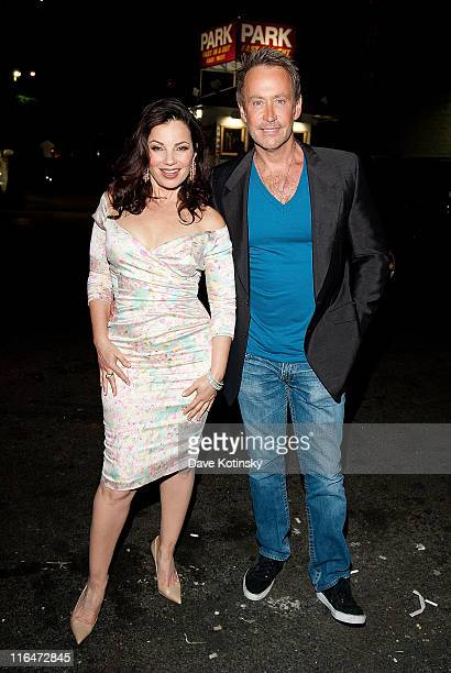 Fran Drescher and Peter Marc Jacobson attends the exclusive screening of TV Land's sitcom 'Happily Divorced' hosted by Fran Drescher at Industry Bar...