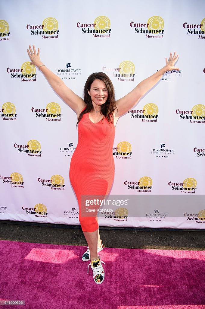 <a gi-track='captionPersonalityLinkClicked' href=/galleries/search?phrase=Fran+Drescher&family=editorial&specificpeople=201602 ng-click='$event.stopPropagation()'>Fran Drescher</a> arrives at the <a gi-track='captionPersonalityLinkClicked' href=/galleries/search?phrase=Fran+Drescher&family=editorial&specificpeople=201602 ng-click='$event.stopPropagation()'>Fran Drescher</a>'s 2016 Cabaret Cruise at Pier 40 on June 20, 2016 in New York City.