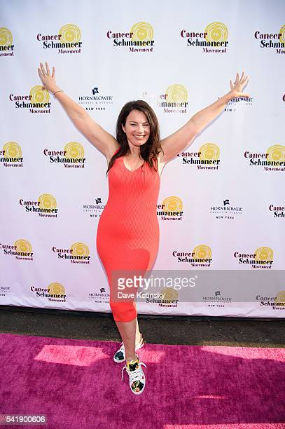 Fran Drescher arrives at the Fran Drescher's 2016 Cabaret Cruise at Pier 40 on June 20 2016 in New York City