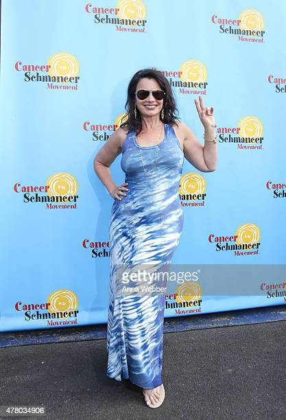 Fran Drescher arrives to Fran Drescher And Friends 2015 NYC Gay Pride Kick Off And Father's Day Celebration at Pier 40 on June 21 2015 in New York...