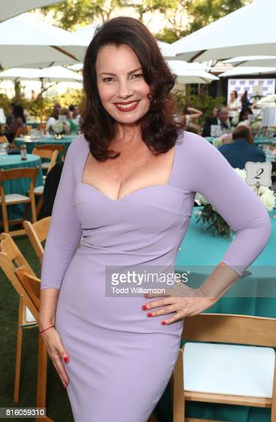 Fran Drescher attends American Cancer Society's California Spirit 32 Gourmet Garden Party at Sony Pictures Studios on July 16 2017 in Culver City...