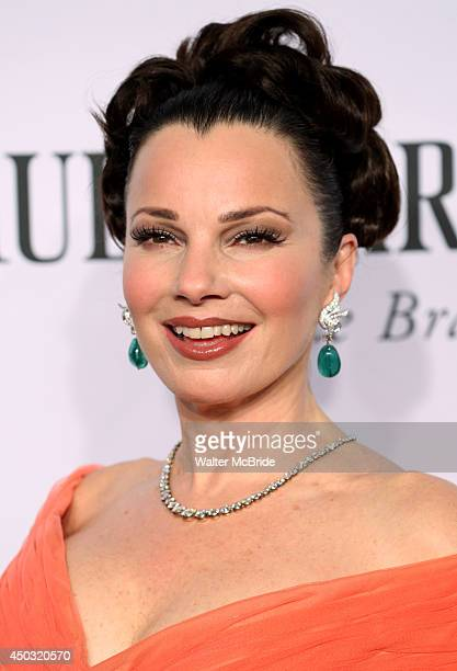 Fran Drescher attends American Theatre Wing's 68th Annual Tony Awards at Radio City Music Hall on June 8 2014 in New York City