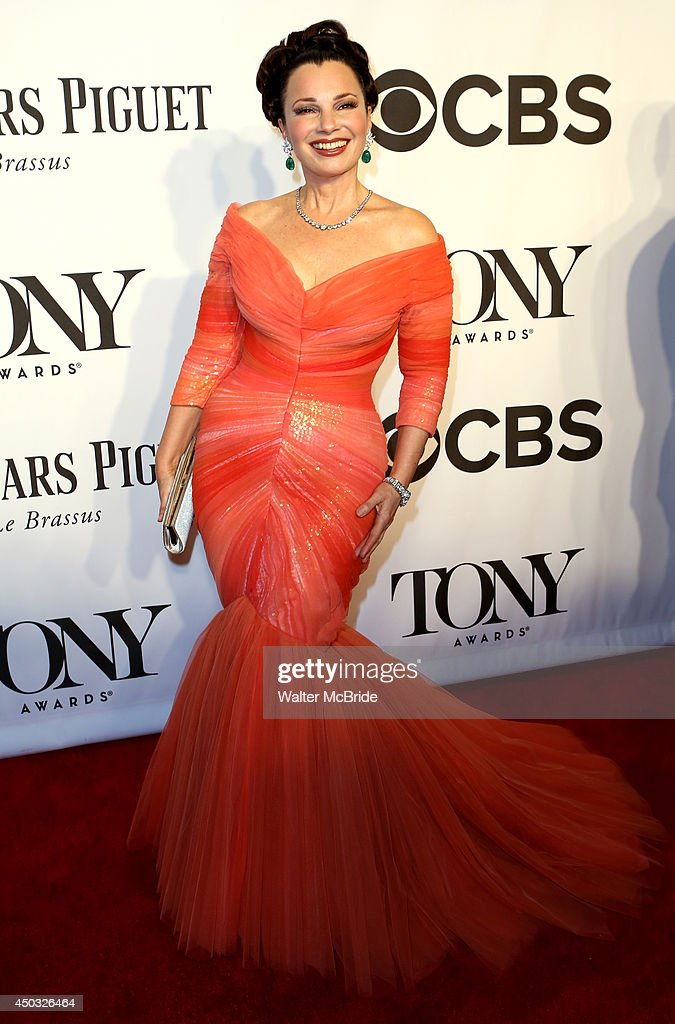 Fran Drescher attends American Theatre Wing's 68th Annual Tony Awards at Radio City Music Hall on June 8, 2014 in New York City.