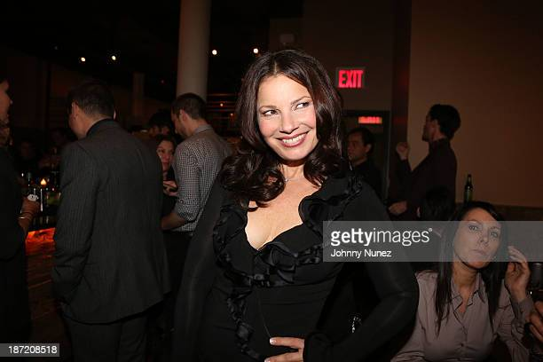 Fran Drescher attends as Fran Drescher and DuJour Magazine present Cancer Shmancer Movement at SEN NYC on November 6 2013 in New York City