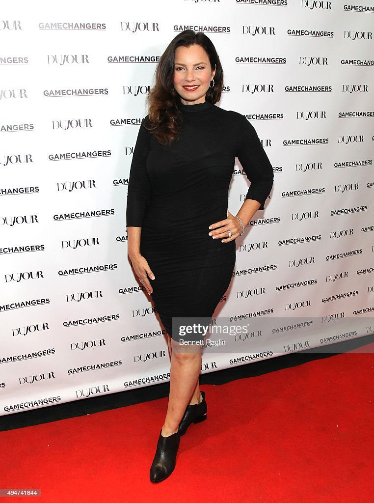 <a gi-track='captionPersonalityLinkClicked' href=/galleries/search?phrase=Fran+Drescher&family=editorial&specificpeople=201602 ng-click='$event.stopPropagation()'>Fran Drescher</a> attends as Jason Binn, Nicole Vecchiarelli and Kevin Ryan celebrate DuJour Magazine's Special Gamechangers issue on October 28, 2015 in New York City.