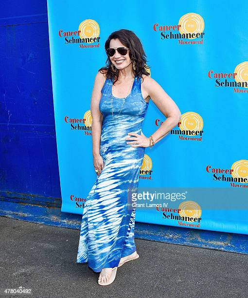 Fran Drescher attends the Fran Drescher And Friends 2015 NYC Gay Pride Kick Off And Father's Day Celebration at Pier 40 on June 21 2015 in New York...