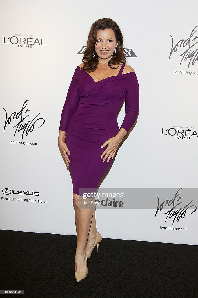 Fran Drescher attends the Project Runway Season 10 Wrap Party at Lord & Taylor on September 5, 2012 in New York City.