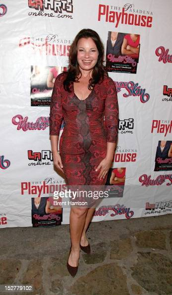 Fran Drescher attends 'Under My Skin' for a 'Cancer Schmancer' benefit performance at Pasadena Playhouse on September 25 2012 in Pasadena California