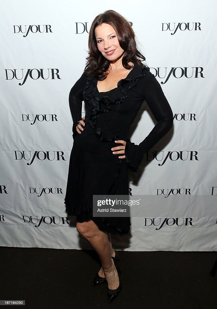 <a gi-track='captionPersonalityLinkClicked' href=/galleries/search?phrase=Fran+Drescher&family=editorial&specificpeople=201602 ng-click='$event.stopPropagation()'>Fran Drescher</a> celebrates her Cancer Schmancer Movement with DuJour's Jason Binn and SEN's Tora Matsuoka on November 6, 2013 in New York City.