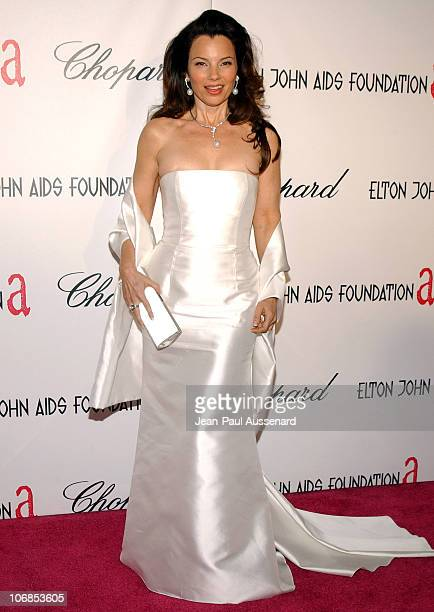 Fran Drescher during 13th Annual Elton John AIDS Foundation Oscar Party Cohosted by Chopard Arrivals at Pacific Design Center in Los Angeles...