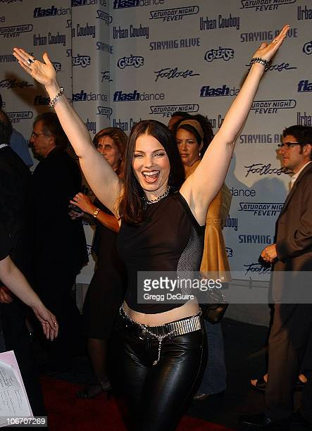 Fran Drescher during Paramount Home Entertainment Celebrates DVD Releases Of 6 AllTime Musical Favorites Arrivals at Paramount Studios in Hollywood...
