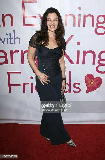 Fran Drescher during 'Save A Heart Day' Fundraising Gala Arrivals at The Beverly Hills Hilton Hotel in Beverly Hills California United States