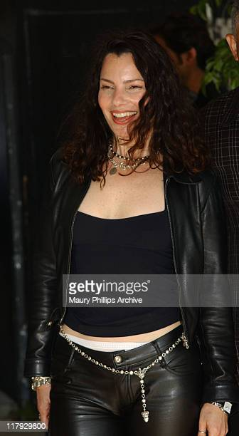 Fran Drescher during Sugar Ray Leonard Presents World Class Boxing From The Playboy Mansion at The Playboy Mansion in Hombly Hills California United...
