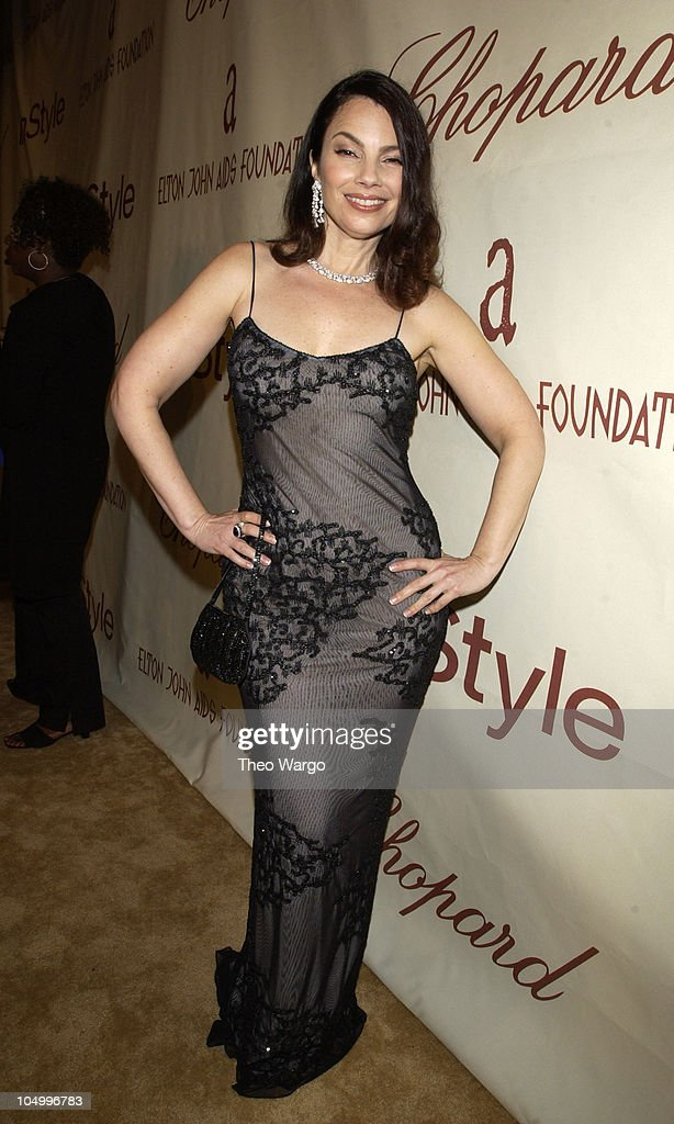 <a gi-track='captionPersonalityLinkClicked' href=/galleries/search?phrase=Fran+Drescher&family=editorial&specificpeople=201602 ng-click='$event.stopPropagation()'>Fran Drescher</a> during The 10th Annual Elton John AIDS Foundation InStyle Party - Arrivals at Moomba Restaurant in Hollywood, California, United States.