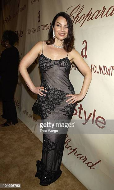 Fran Drescher during The 10th Annual Elton John AIDS Foundation InStyle Party Arrivals at Moomba Restaurant in Hollywood California United States