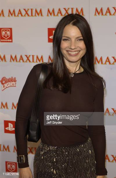Fran Drescher during The Maxim Party at Super Bowl XXXVII at The Old Wonderbread Factory in San Diego CA