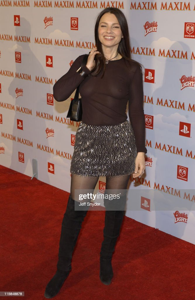 Fran Drescher during The Maxim Party at Super Bowl XXXVII at The Old Wonderbread Factory in San Diego, CA.