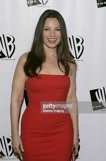 Fran Drescher during The WB Television Network's 2005 All Star Party Arrivals at Warner Bros Studio in Burbank California United States