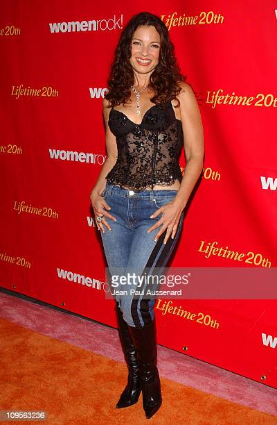 Fran Drescher during WomenRock LIFETIME Televsion Fifth Annual Signature Concert Arrivals at Wiltern Theater in Los Angeles California United States