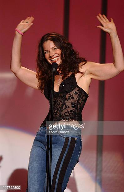 Fran Drescher introduces En Vogue during WomenRock LIFETIME Televsion Fifth Annual Signature Concert Show at Wiltern LG Theater in Los Angeles...