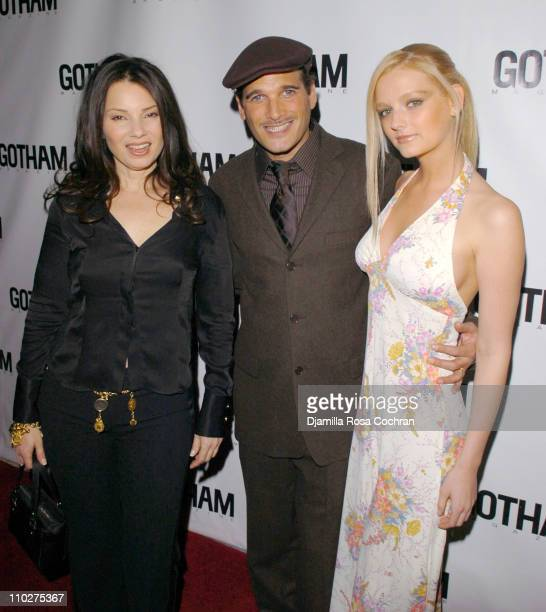 Fran Drescher Phillip Bloch and Lydia Hearst