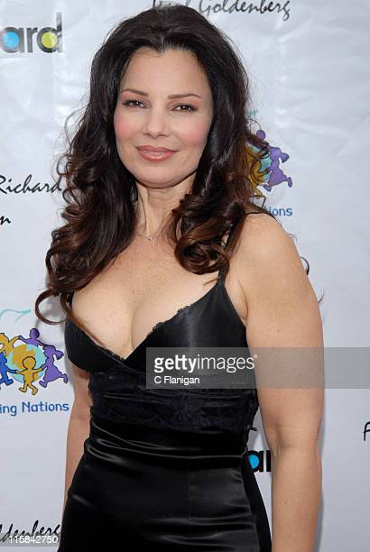 Fran Drescher wearing Dolce Gabbana during Billboard Presents Children Uniting Nations Oscar Celebration Dinner and After Party Arrivals at The Music...