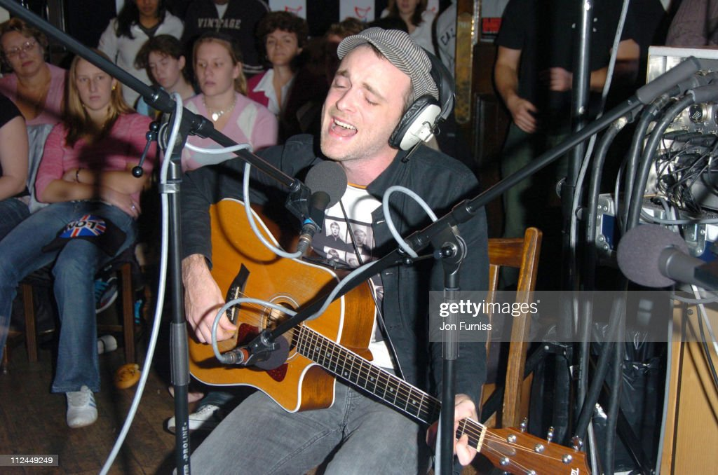 Fran Healy of Travis during Capital FM's 'Breakfast Show' Outside Broadcast with Fran Healey at The North Star Pub Ealing in London Great Britain