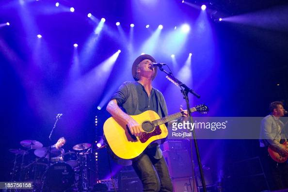 Fran Healy of Travis performs at The Roundhouse on October 24 2013 in London England