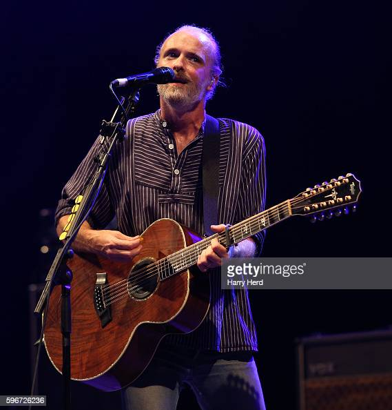 Fran Healy of Travis performs at Victorious Festival at Southsea Seafront on August 27 2016 in Portsmouth England