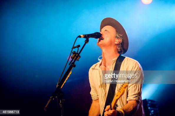 Fran Healy of Travis performs live during a concert at Astra on November 25 2013 in Berlin Germany