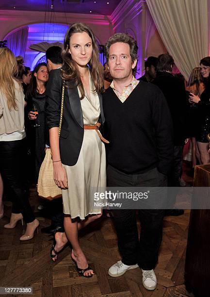 Fran Hickman and Tom Hollander attend the 4th anniversary of Tate Young Patrons sponsored by Vanessa Bruno on June 8 2011 in London England
