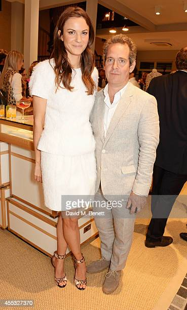 Fran Hickman and Tom Hollander attend the M'oda 'Operandi launch on September 12 2014 in London England