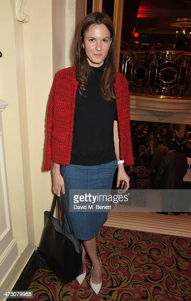 Fran Hickman attends as 'Billy Elliot The Musical' celebrates its 10th Anniversary in London's West End at the Victoria Palace Theatre on May 12 2015...