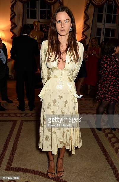Fran Hickman attends The Academy Of Motion Pictures Arts Sciences new members reception hosted by Ambassador Matthew Barzun and Mrs Brooke Barzun at...