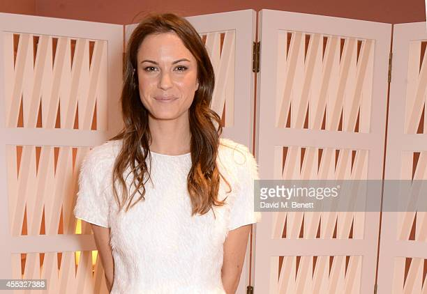 Fran Hickman attends the M'oda 'Operandi launch on September 12 2014 in London England
