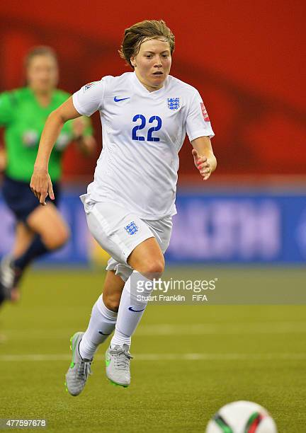 Fran Kirby of England in action during the FIFA Womens's World Cup Group F match between England and Colombia at Olympic Stadium on June 17 2015 in...