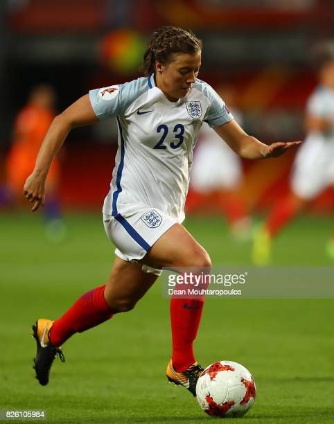 Fran Kirby of England in action during the UEFA Women's Euro 2017 Semi Final match between Netherlands and England at De Grolsch Veste Stadium on...