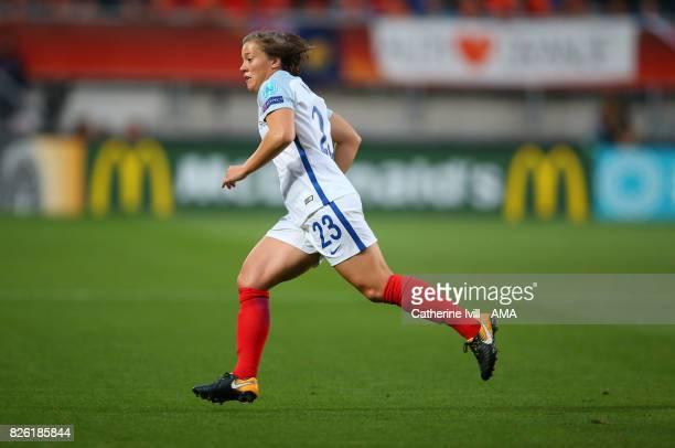 Fran Kirby of England Women during the UEFA Women's Euro 2017 semi final match between Netherlands and England at De Grolsch Veste Stadium on August...