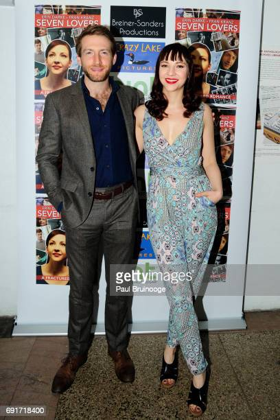 Fran Kranz and Erin Darke attend 'Seven Lovers' Film Screening at Anthology Film Archives on June 2 2017 in New York City